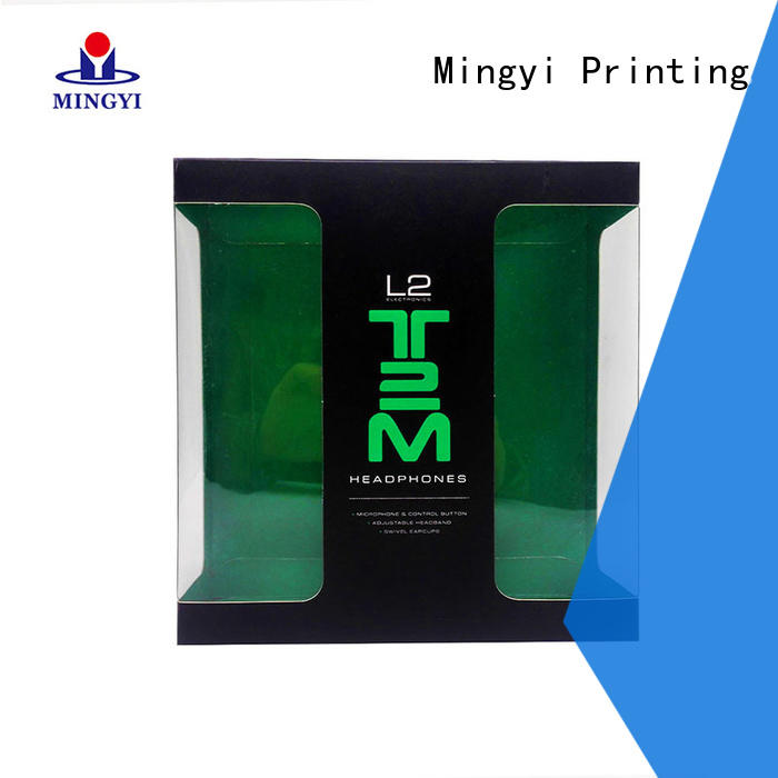 Mingyi Printing high-end colored packaging boxes with good price for gift