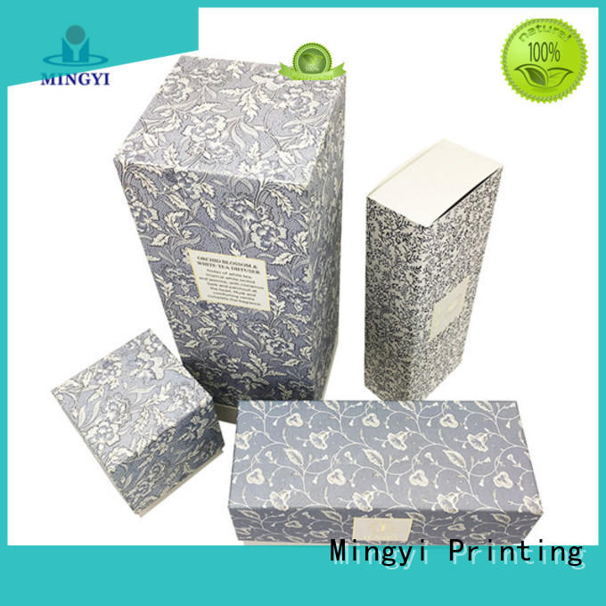Mingyi Printing inexpensive fancy gift boxes with lids producer for Jewellery
