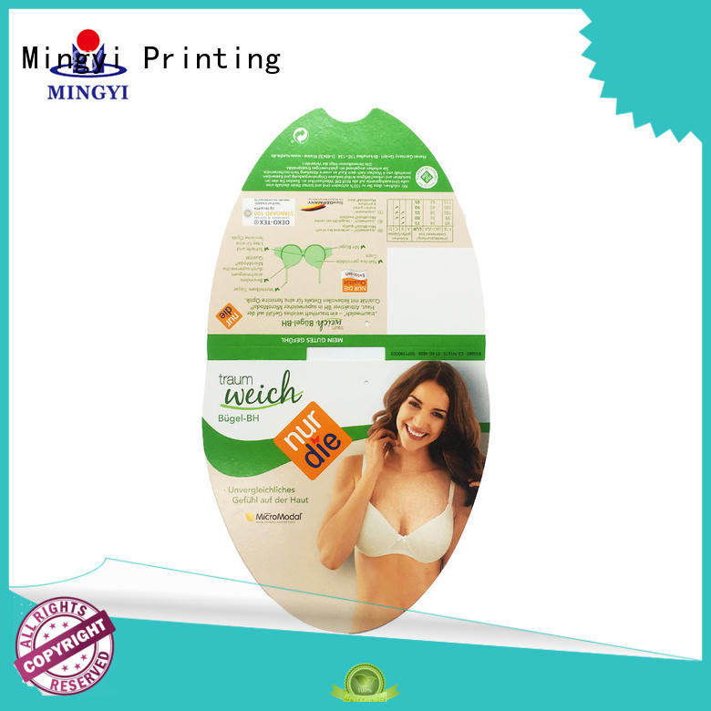 Mingyi Printing small label manufacturers for items