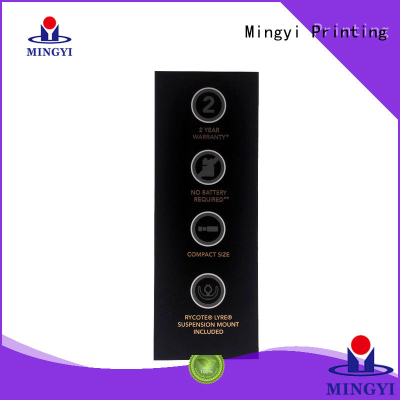 Wholesale pvc custom boxes and packaging Mingyi Printing Brand