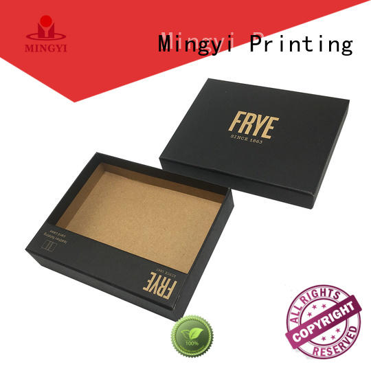 clothing daily base pvc pet hard gift boxes Mingyi Printing Brand