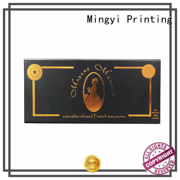 suppler personalised packaging boxes certification for gift Mingyi Printing