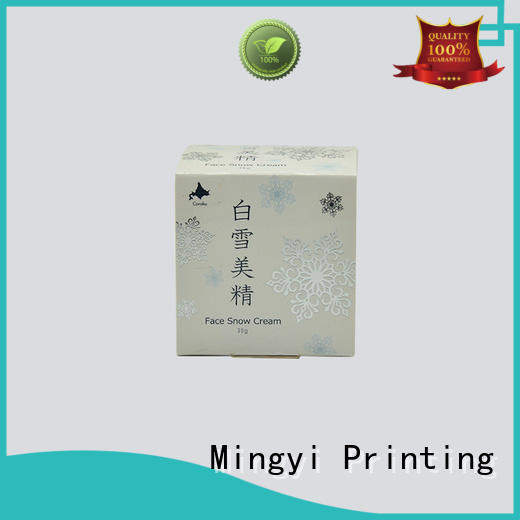 Mingyi Printing new design cosmetic box packaging make for items