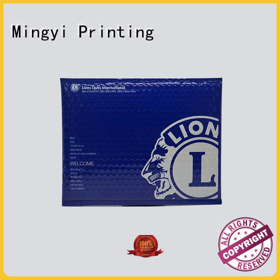 color printing bubble pack daily commodities high-quality packaging stickers Mingyi Printing