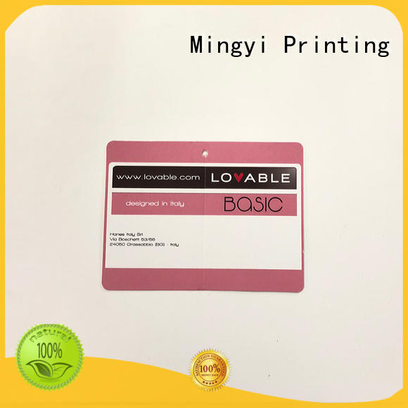Mingyi Printing Brand cost effective customized ribbon custom made labels