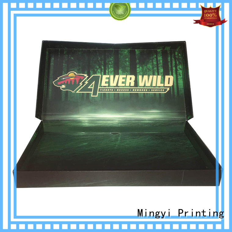 Mingyi Printing Wholesale cardboard shipping boxes Suppliers for present