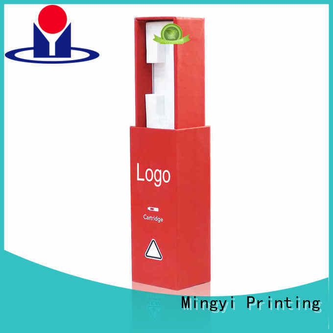 lid custom shipping packaging certification for present Mingyi Printing