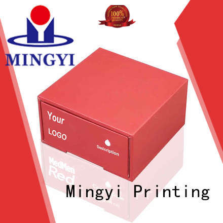Mingyi Printing affordable custom made cardboard boxes from manufacturer for present
