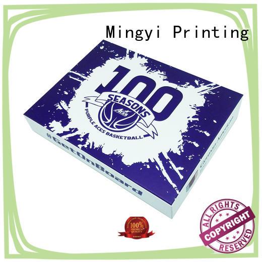 Mingyi Printing cardboard gift box factory for snacks