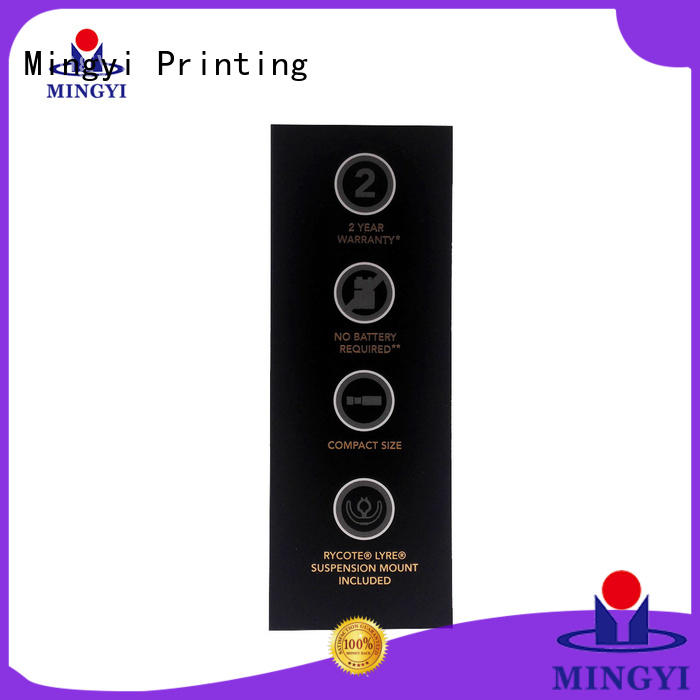 bottom cosmetic foil luxury packaging boxes paper Mingyi Printing Brand