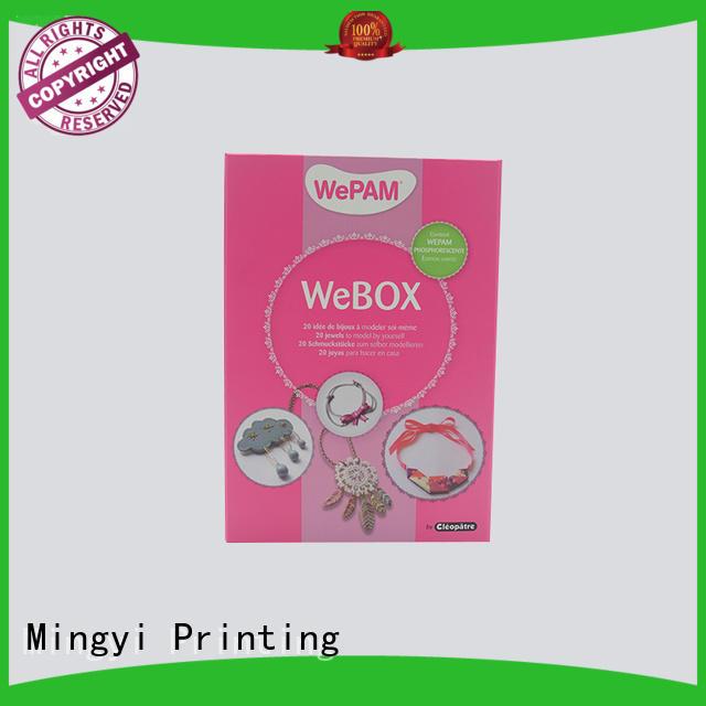 pet window watch gift box wooden customized Mingyi Printing company