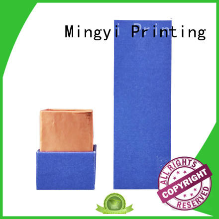 Mingyi Printing Latest custom product packaging boxes Supply for present