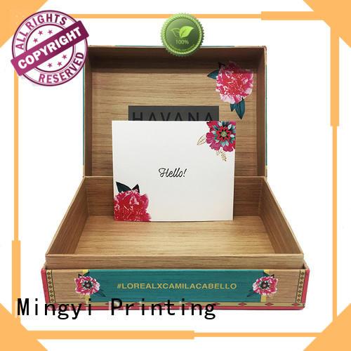 hard gift boxes perfume commodity Bulk Buy window Mingyi Printing