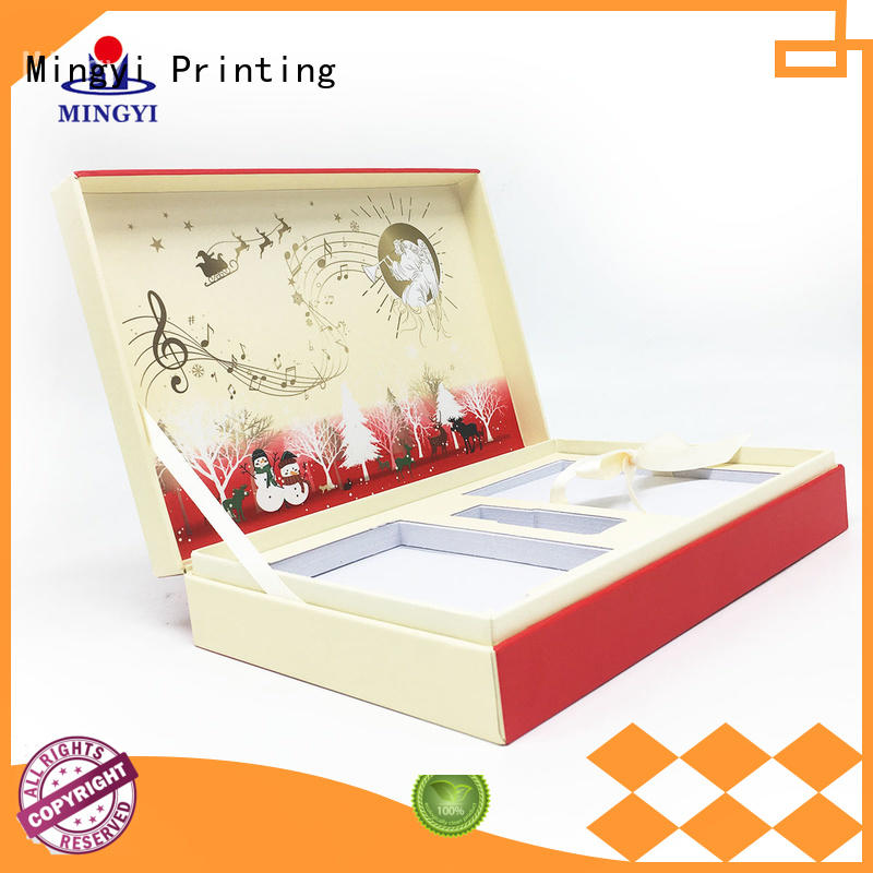 Latest empty gift boxes factory for items