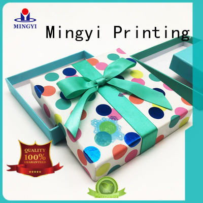 Mingyi Printing quality cute gift boxes waterproof for Jewellery