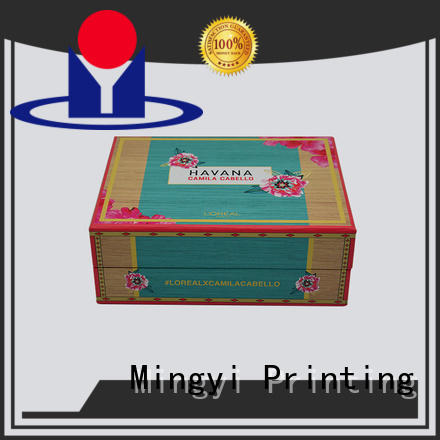 Hot hard gift boxes magnetic Mingyi Printing Brand