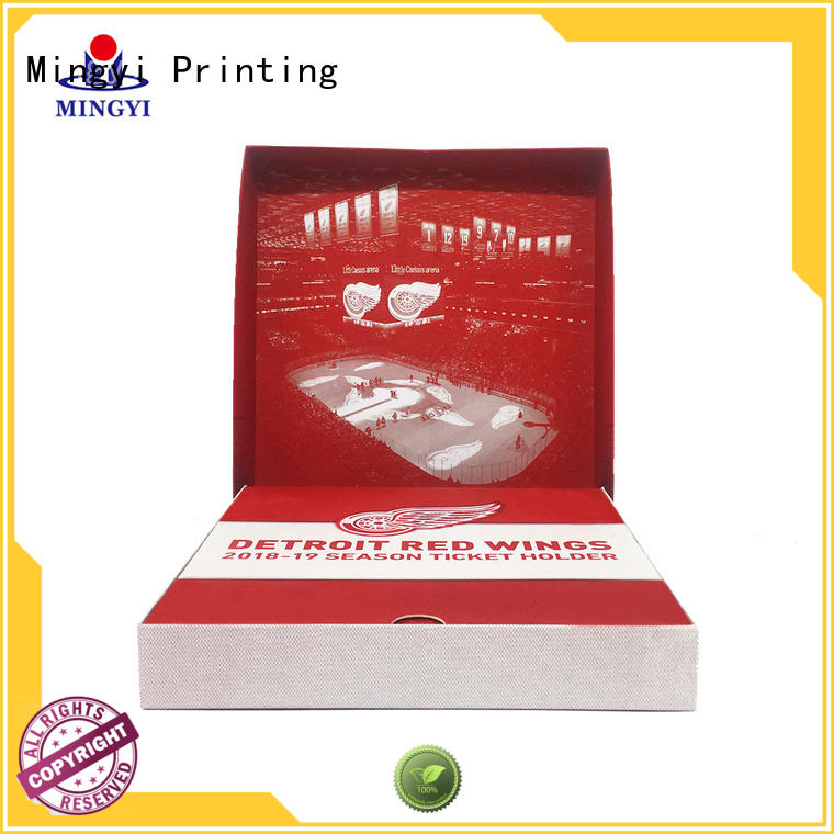 Mingyi Printing team paper gift box directly sale for souvenir