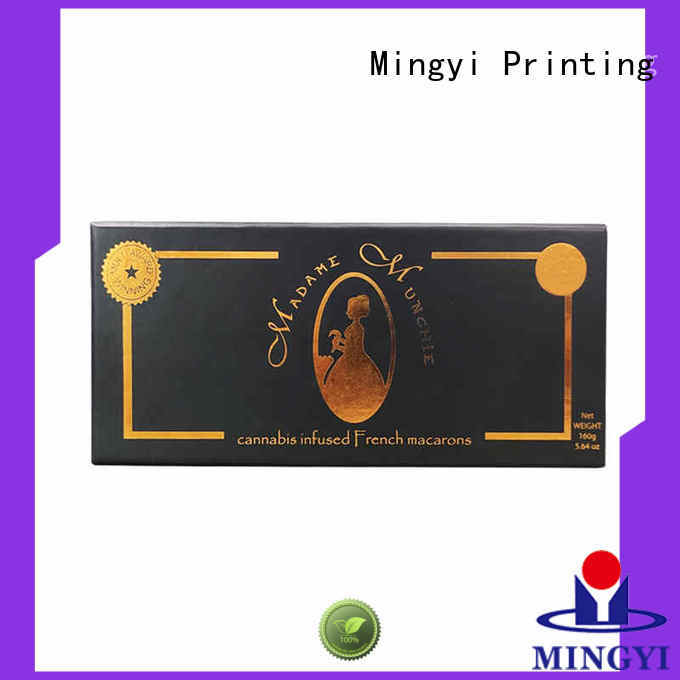 Mingyi Printing printed shipping boxes for business for snacks