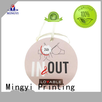 Mingyi Printing colorcards for business for snacks