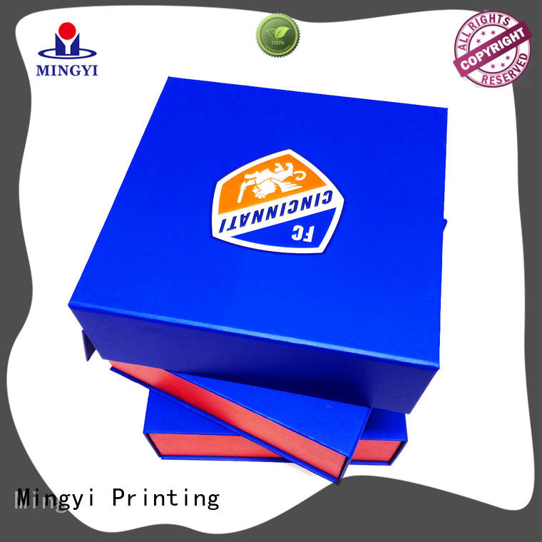 Mingyi Printing suitcase purchase gift boxes factory price for souvenir