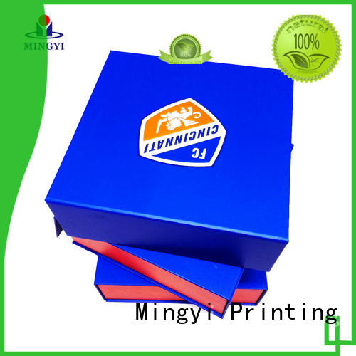 Mingyi Printing quality foldable gift boxes directly sale for Jewellery