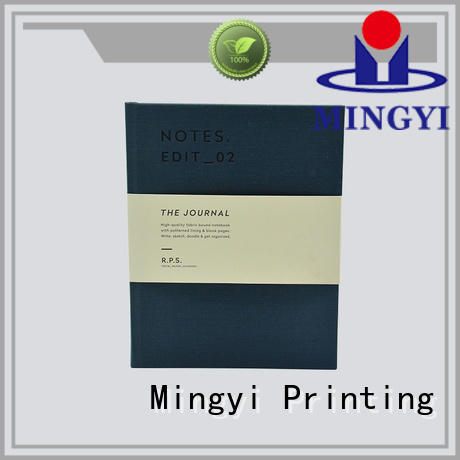 Mingyi Printing Brand notebook folder writing plastic clothing cheap scrapbook albums
