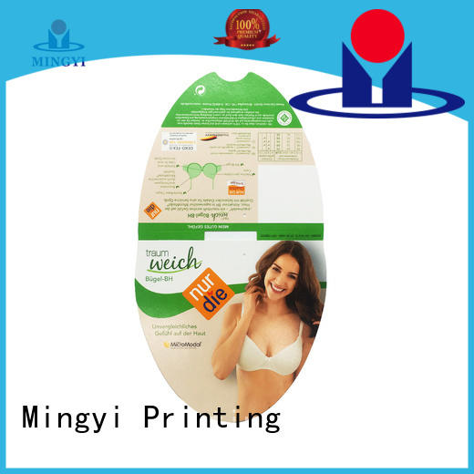 Mingyi Printing t shirt tags factory for candy