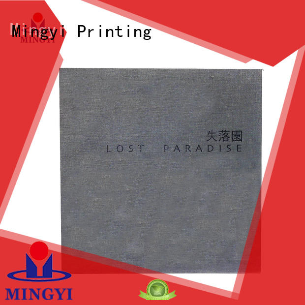 Mingyi Printing Latest custom size cardboard boxes Supply for present