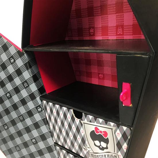 Custom drawer cardboard coffin gift box packaging hexagon coffin packaging