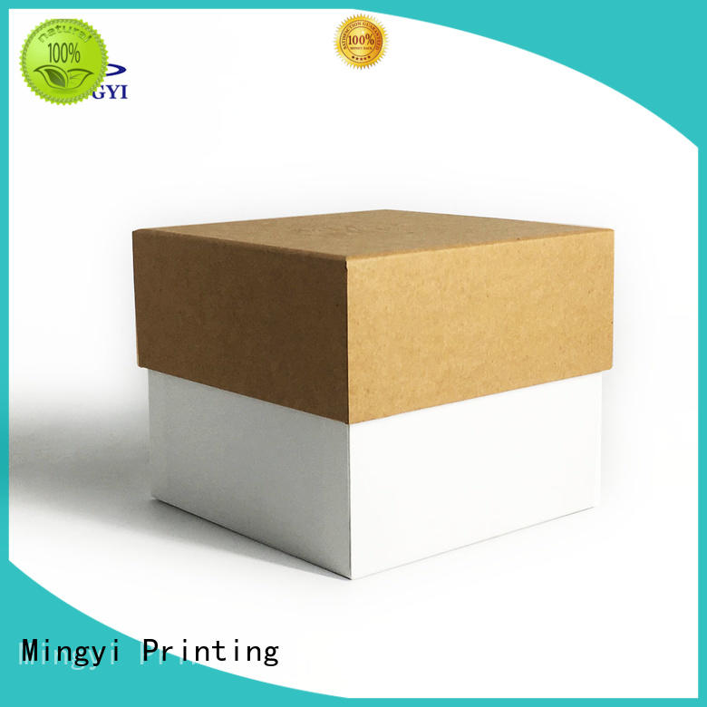 Mingyi Printing decorative cardboard boxes Supply for snacks