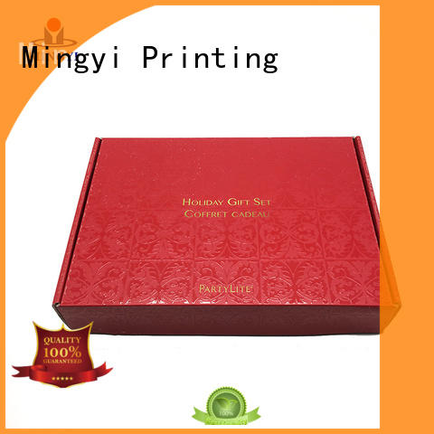 Mingyi Printing Top luxury packaging boxes factory for snacks