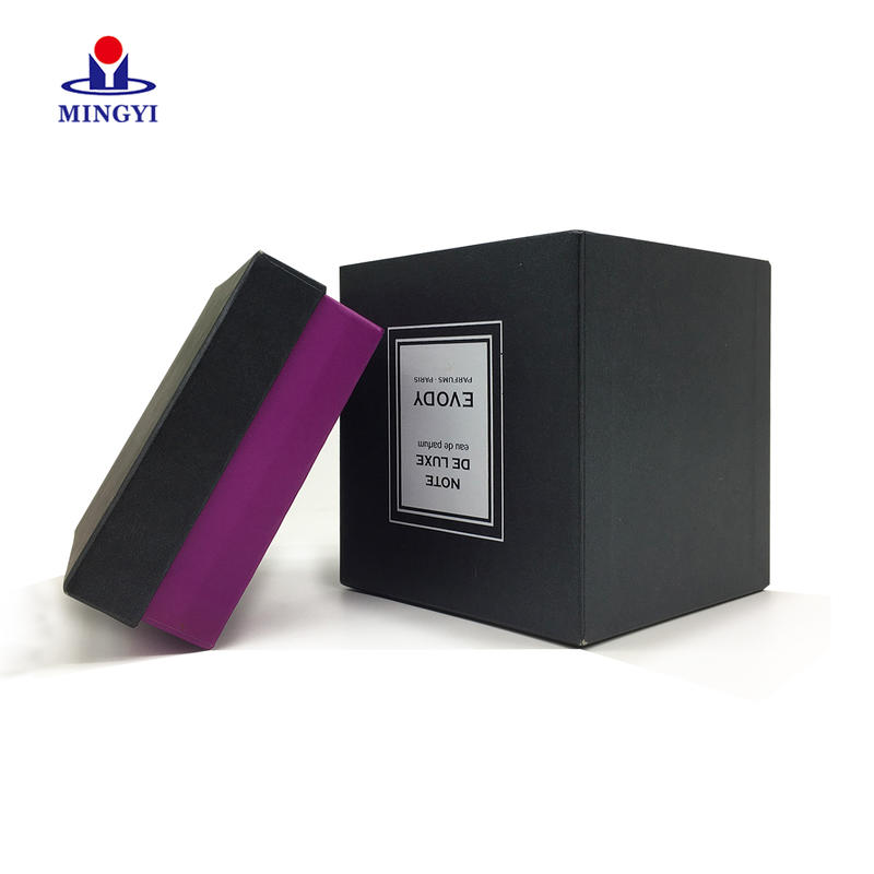 Customized luxury cosmetic paper packaging box with lid use 500g grey board