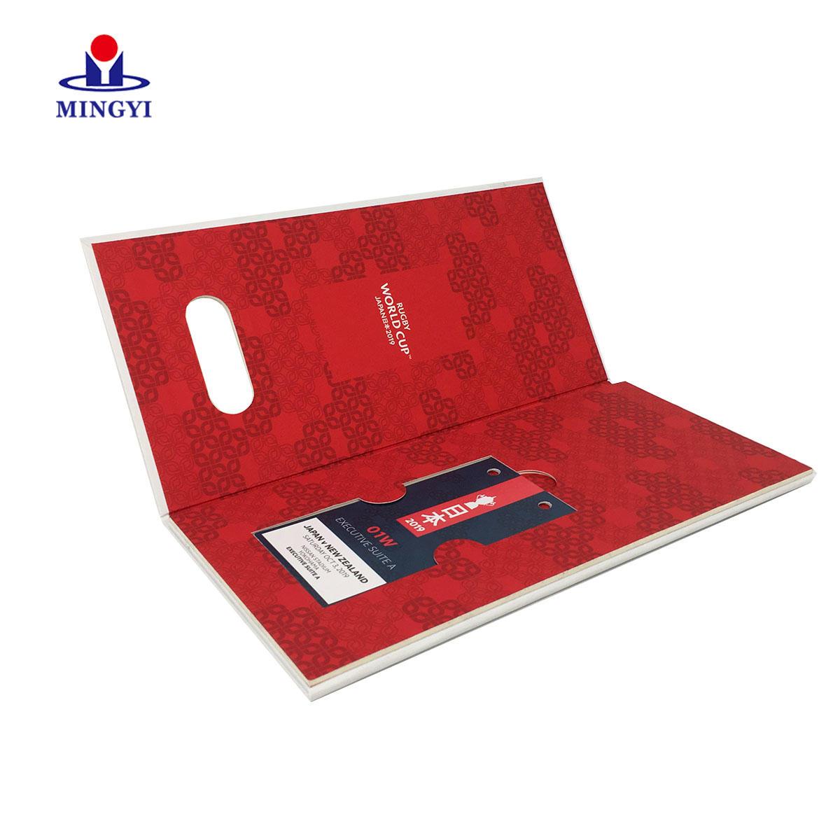 New customized luxury wedding invitation Customized gift box
