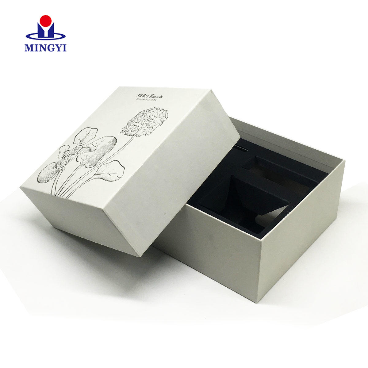 China supplier customized cardboard gift box with and base structrue used for digital