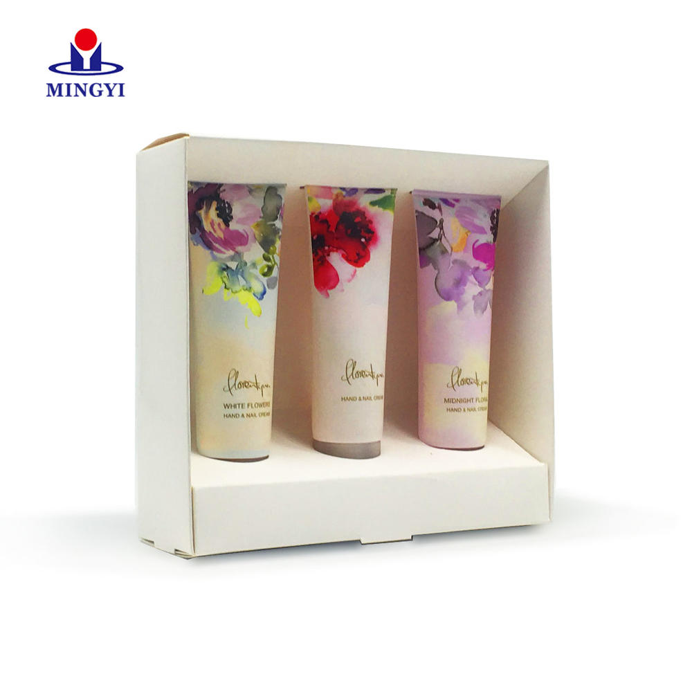 Luxury cosmetic gift box tray costom for well-know brand