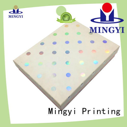 Mingyi Printing decorative gift boxes with lids Suppliers